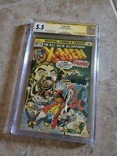X-MEN #94 CGC 5.5 KEY! (1st NEW X-Men begin) 1975 Marvel Signed Chris Claremont