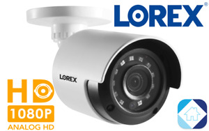 Lorex 1080p HD Weatherproof Bullet Security Camera 130ft Night Vision LBV2531U