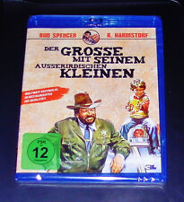 THE GREAT WITH HIS ALIEN KLEINEN WITH BUD SPENCER BLU RAY NEW & VINTAGE