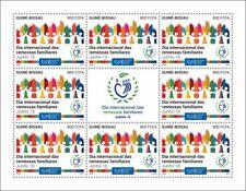 More details for guinea-bissau stamps 2020 mnh international day family remittances upu 8v m/s