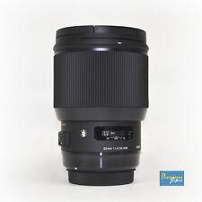 SIGMA 85mm F1.4 DG HSM Art Lens for Canon Mount Japan Domestic Version New