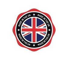 UK Made in the UK England GB Sticker Decal Graphic Vinyl Label V3