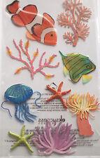 JOLEE'S BOUTIQUE LE GRANDE SEA ANEMONE Marine Fish Coral Scrapbook Craft Sticker