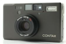 Read!! 【MINT+++】 Contax T3 D BLACK Point & Shoot Film Camera from JAPAN #815