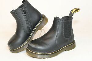 Dr. Martens Toddler Girls Size 6 21.5 Shenzi Leather Zip Chelsea Ankle Boots