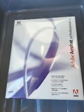 New Sealed Japanese Adobe Acrobat 7.0 Professional Software Macintosh Mac