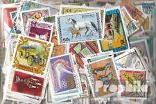 Mongolei 500 nur verschiedene Briefmarken Mongolei-Sammlung