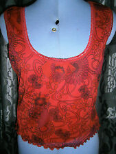 Topshop Polyester Crew Neck Floral T-Shirts for Women