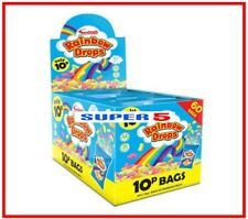 Rainbow Drops | 60 Packs | Swizzels Matlow | Party Filler,Gift