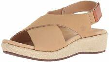 Spenco Women's Marfa Wedge Sandal, tan, 6 Medium US