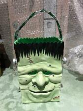 "Halloween Frankenstein Ceramic Bag by Masterpiece USA 8.25"" tall new!"