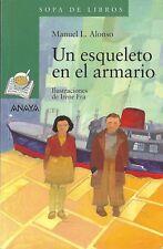 UN ESQUELETO EN EL ARMARIO de Manuel. L. Alonso + otro libro de regalo