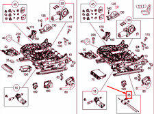 MERCEDES-BENZ C W205 Front Seat Horizontal Adjustment A000910260964 NEW GENUINE