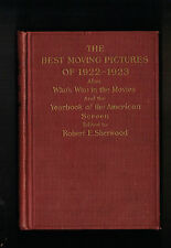 SILENT FILM MOVIES * BEST MOVING PICTURES OF 1922-1923 1st EDIT. CHANEY CHAPLIN