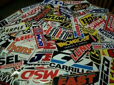 ***Lot of 20+ Authentic Contingency Style Decals Nascar Stickers Racing Outlaw