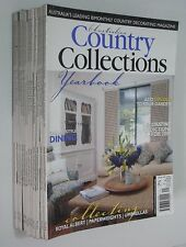 AUSTRALIAN COUNTRY COLLECTIONS magazine bulk lot of 12 issues 56 57 58 59 60 etc