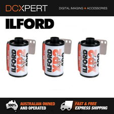 ILFORD XP2 SUPER – 3 PACK – 24 EXPOSURES – 35mm BLACK & WHITE NEGATIVE FILM