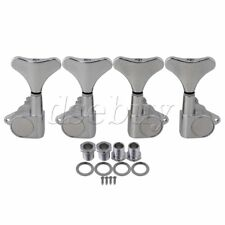 Chrome Sealed Bass Tuners Tuning pegs Machine Heads 2R2L