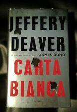 Carta bianca - l'ultimo romanzo di James Bond - giallo - noir