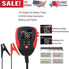 Digital 12V Car Battery Tester with AH/CCA Mode Automotive Battery Load X9F8
