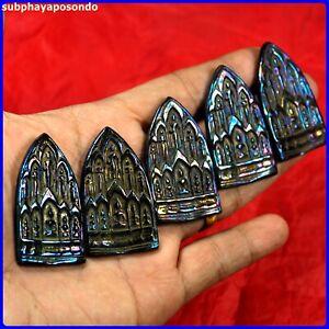 5 pcs.PHRA  10 LEKLAI LP NGERN.Thai Amulet