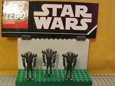 "STAR WARS LEGO LOT MINI FIGURE--MINI FIG--""  LOT OF 3 SUPER BATTLE DROIDS  """