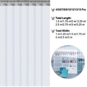 VEVOR PVC Streifenvorhang Lamellenvorhang stabiler Lagervorhang Stallvorhang