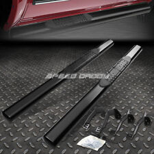 "FOR 02-09 DODGE RAM REGULAR CAB 4"" OVAL BLACK SIDE STEP NERF BAR RUNNING BOARD"