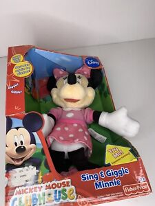 """Fisher-Price Disney """"Sing & Giggle Minnie"""" - features the Hot Dog Song- NEW"""