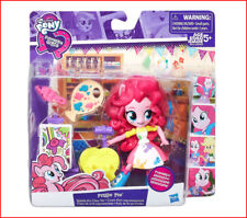 My Little Pony Minis PINKIE PIE Splashy Art Class Set - Articulate 7 pcs ❤️NEW❤️