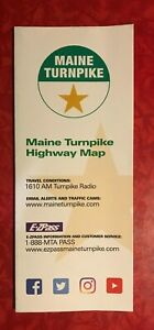MAINE TURNPIKE HIGHWAY MAP published in 2019