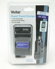 Vivitar Rapid Battery Charger F/ Panasonic Cameras W/DMW-BCG-10, BCF-10, BCJ-13E