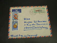 Cameroon 1970 airmail cover to switzerland *30233