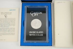 1884-CC $1 Carson City Morgan Silver Dollar - Uncirculated - US Mint Certified!