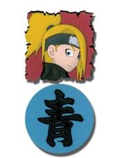 Naruto Shippuuden Deidara and Aoi 2 Pin set Anime NEW