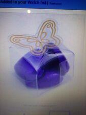 120 cajas de PVC transparente parte superior de la Mariposa Para Chocolate/Soap/favores o Jewell