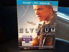 ELYSIUM - BLU RAY + DVD