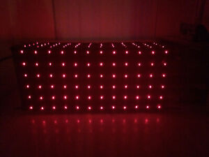 Starcloth lights Red star cloth disco Dj led light sensory aid