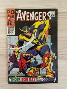Avengers #51 1968 Marvel Comics