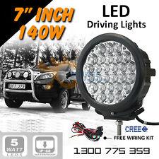 LED Driving Lights, Spot or Work Light 3pcs 7inch 140W CREE Offroad 12v24v truck