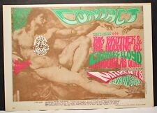 Original 1960s Poster Big BrotherAvalon Ballroom FD52-1