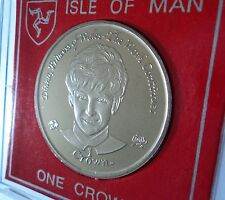 2002 Isle of Man PRINCESSE LADY DIANA SPENCER Memorial Charity Crown coin BU Cadeau