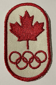 Vintage Canada Olympic Crest Patch