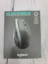 LOGITECH MX ANYWHERE 2S. WIRELESS MOBILE MOUSE.  BLACK. NEW OPEN BOX