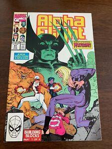 Alpha Flight #87 (Aug 1990, Marvel) Jim Lee Wolverine cover NM-