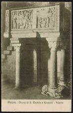 AX0354 Pistoia - Chiesa di San Michelle a Groppoli - Pulpito - Cartolina postale