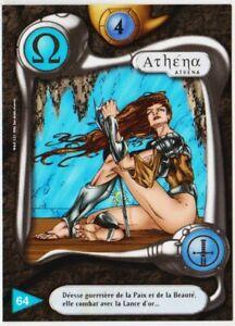 64 ATHENA - CARTE DEUS - SERIE I - 1996 - VF [ NEUF MINT ] trad's