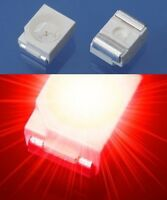 S184 - 50 Stück SMD LED PLCC-2 3528 rot LEDs 1210 red