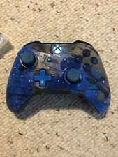 Multicolored Sprayed Painted Wireless (Xbox One) Controller With Extra Screws