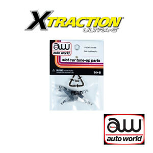 Auto World Xtraction Pick Up Shoe (Pair) (5) Pack: 1:64 / HO Scale Slot Car